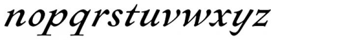 Sirenne Text MVB Swash Italic Font LOWERCASE