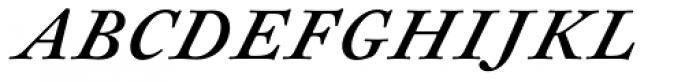Sirenne Text MVB TF Italic Font UPPERCASE