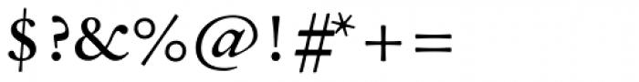 Sirenne Text MVB TF Roman Font OTHER CHARS