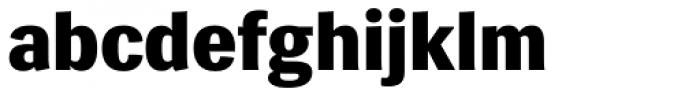 Siri ExtraBold Font LOWERCASE