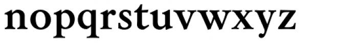 Sirius Bold Font LOWERCASE