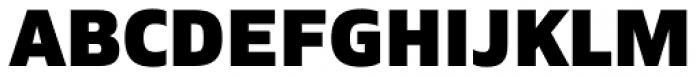 Siro Heavy Font UPPERCASE