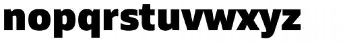 Siro Heavy Font LOWERCASE