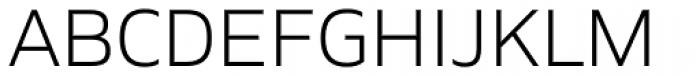 Siro Light Font UPPERCASE
