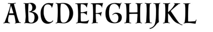 Sirona Font UPPERCASE