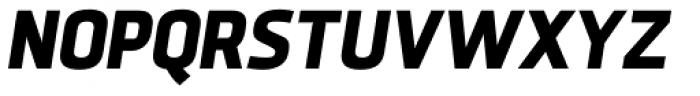 Sisco Heavy Italic Font UPPERCASE