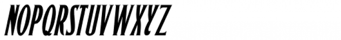 Sitting Pretty Oblique JNL Font UPPERCASE