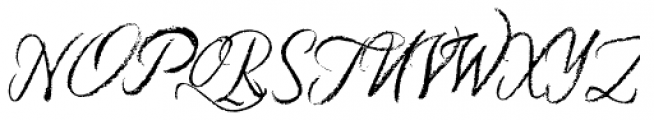 Six Hands Chalk Font UPPERCASE