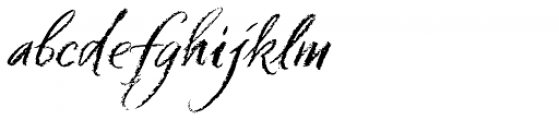Six Hands Chalk Font LOWERCASE