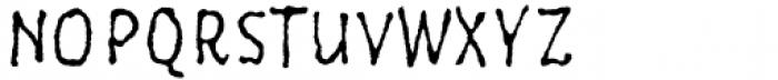 Six Minutes Narrow 300 Font UPPERCASE