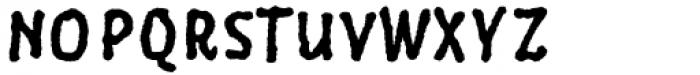 Six Minutes Narrow 700 Font UPPERCASE