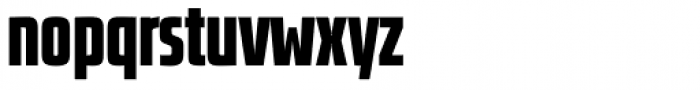 Size Black Font LOWERCASE