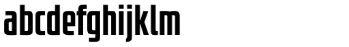 Size Bold Font LOWERCASE