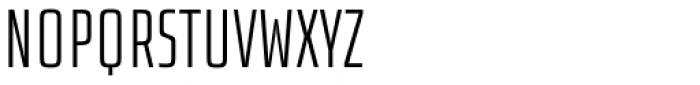 Size Light Font UPPERCASE