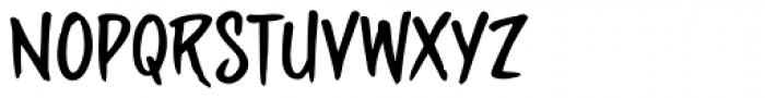 sideburnBob Font UPPERCASE