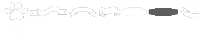 si shapes dingbats font Font LOWERCASE