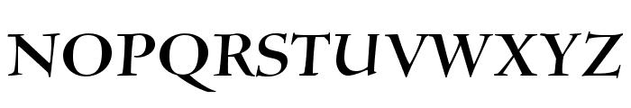 SilentiumPro-RomanI Font UPPERCASE