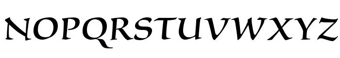 SilentiumPro-RomanII Font UPPERCASE