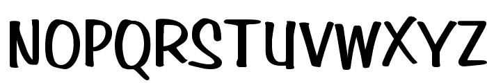 Simpson Bold Font UPPERCASE