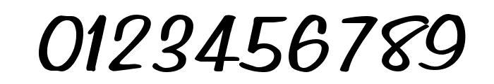 Simpson BoldItalic Font OTHER CHARS