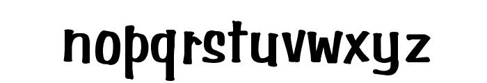 Simpson Bold Font LOWERCASE