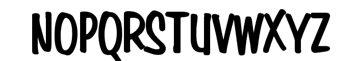 Simpson Condensed Heavy Bold Font UPPERCASE