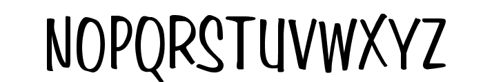 Simpson Condensed Normal Font UPPERCASE