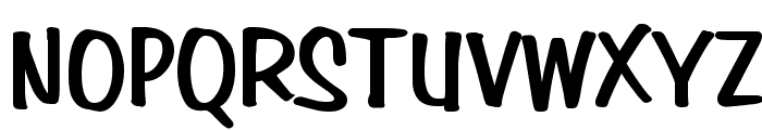 Simpson Heavy Normal Font UPPERCASE