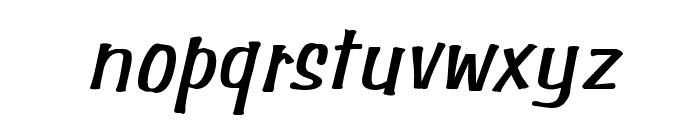Simpson Italic Font LOWERCASE