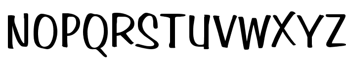 Simpson Normal Font UPPERCASE