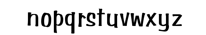 Simpson Normal Font LOWERCASE