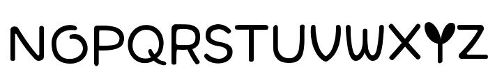 SJSpringhascome Font UPPERCASE