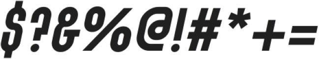 SK Barbicane Bold Italic ttf (700) Font OTHER CHARS