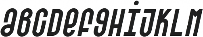 SK Barbicane Unicase Italic ttf (400) Font LOWERCASE
