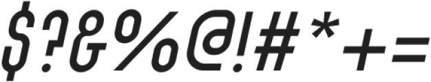 SK Barbicane Unicase Light Italic ttf (300) Font OTHER CHARS