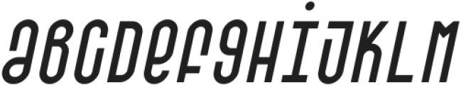 SK Barbicane Unicase Light Italic ttf (300) Font LOWERCASE