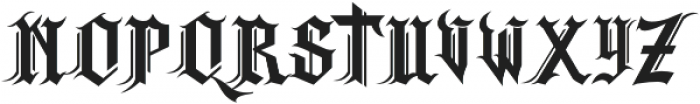 Skandinav otf (400) Font UPPERCASE