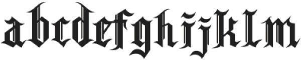 Skandinav otf (400) Font LOWERCASE