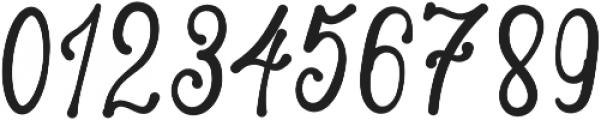 Skarlight Millagra Regular otf (300) Font OTHER CHARS