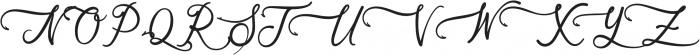 Skarlight Millagra Regular otf (300) Font UPPERCASE