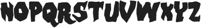 Skate Bait otf (400) Font UPPERCASE