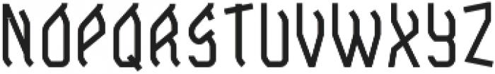 SkateboardFont Base otf (400) Font LOWERCASE