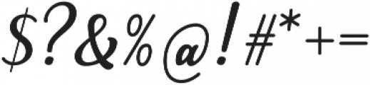 Skatera otf (400) Font OTHER CHARS