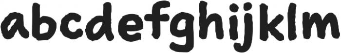 Sketchnote Text Bold otf (700) Font LOWERCASE