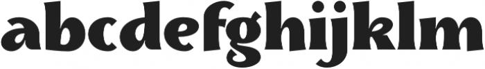 Skiff Black otf (900) Font LOWERCASE