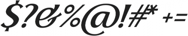 Skiff Regular Italic otf (400) Font OTHER CHARS