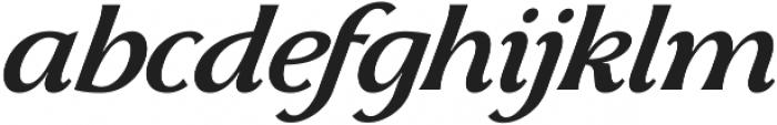 Skiff Regular Italic otf (400) Font LOWERCASE