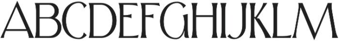 Skiff Thin otf (100) Font UPPERCASE