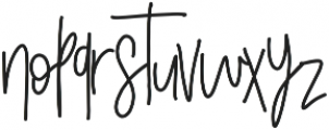 Skinny Jeans otf (400) Font LOWERCASE