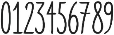 Skinny ttf (400) Font OTHER CHARS